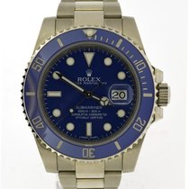 Rolex Submariner white gold 116619LB, 2015