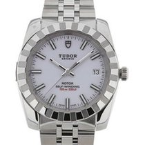 Tudor 22010/62540 Classic Date in Steel - on Steel Bracelet...