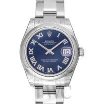 Rolex Datejust Midsize Blue/Steel Ø31mm - 178240