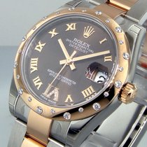 Rolex 178341 31 Mm Mid Size Steel Rose Gold Oyster Datejust...