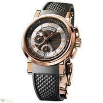 Breguet : Marine Chronograph 18k Rose Gold Men's Watch