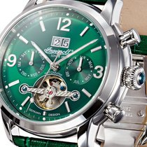 Ingersoll IN1826GR Belle Star grün Herren Automatik