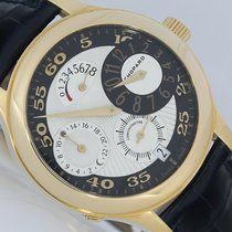 Chopard NEU Regulator 8 Tage GMT Gold Regulateur