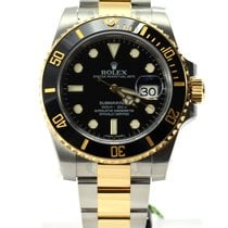 勞力士 (Rolex) Submariner bi color steel gold black dial bezel...
