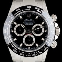 Rolex S/S Unworn O/P Black Dial Ceramic Bezel Daytona B&P...
