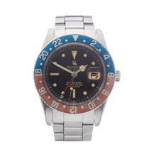Rolex GMT-Master 6542 Pepsi with Gloss Gilt Dial Stainless...