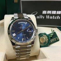 Rolex Cally - Day-Date 2 40mm 228239 2016 Blue Roman 罕有 藍色羅馬