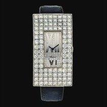 Chopard ALL DIAMONDS RECTANGULAR P'AVE SET 18K WHITE GOLD
