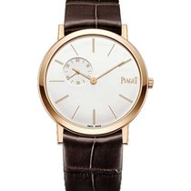 Piaget G0A39105 Altiplano Manual in Rose Gold - on Brown...