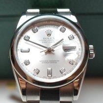 Rolex Day Date Weißgold Dia LC100