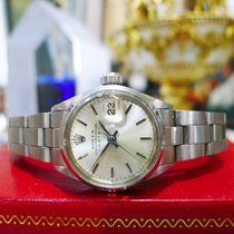 Rolex Oyster Perpetual Date 6516 Stainless Steel Watch Circa 1970