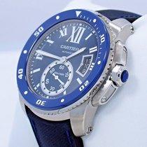 Cartier Calibre De Cartier Diver Wsca0010 Blue 42mm Automatic...