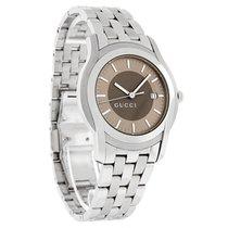Gucci 5500 Series Xl Mens Brown Dial Watch YA055215