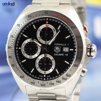 TAG Heuer Men's Formula 1 Calibre 16 Chrono Steel on Steel...