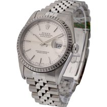Rolex Used 16220_used_jub_sil_stk 36mm Datejust with Jubilee...