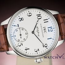 IWC PORTUGUESE F.A. JONES LIMITED EDITION PLATINUM BOX &...