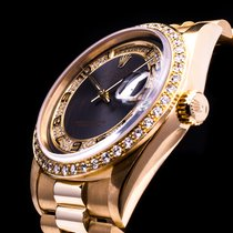 Ρολεξ (Rolex) Day Date 18kt. Gold Brilliantbesatz Factory-Set...
