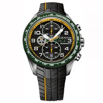 Graham Silverstone RS Racing Green & Yellow