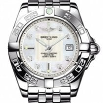 Breitling A71356L2/A708 Galactic 32 Ladies Quartz in Steel -...