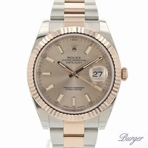 Rolex Datejust 41 Rolesor Everose Fluted NEW MODEL