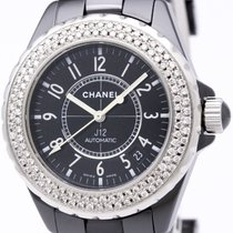 Chanel Polished Chanel J12 Custom Diamond Ceramic Automatic...