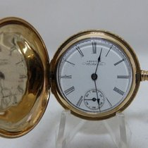Waltham . Lady's pendant watch, 14 kt gold, saboneta. Year...