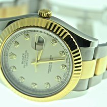 Rolex Datejust II Two Tone Diamond Dial 116333