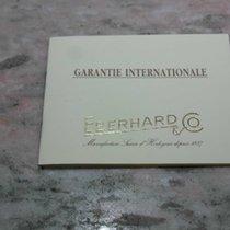 Eberhard & Co. vintage warranty booklet hyperbole model...