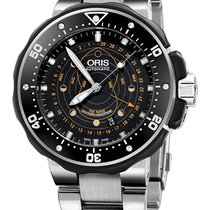 Oris ProDiver Pointer Moon 49mm 01 761 7682 7134-Set Southern...