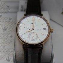 萬國 (IWC) IW510107  Portofino Hand Wound Eight Days Pink Gold
