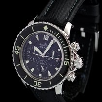 Blancpain Fifty Fathoms Chrono Flyback Full Set BRILLIANT...