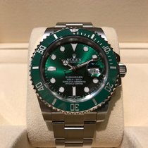 Rolex Submariner Green B&P