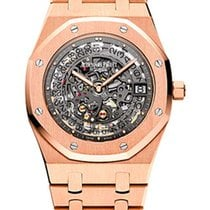 Audemars Piguet Royal Oak Extra-thin 18K Rose Gold Men's...