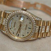 Rolex Day-Date 18388 Originalbesatz ( ALL  Factory Diamonds)...