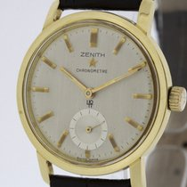 Zenith Chronometer from 1962 solid 18K Gold Cal. 40T with Papers