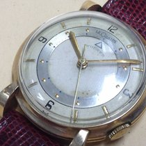 Le-Coultre Memovox Alarm Extremelly Rare Watch Gold Plated