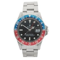 Rolex GMT-Master Pepsi Stainless Steel Gents 1675 - COM996
