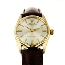 Rolex Oyster Perpetual 14ct Gold - Fresh service 1 Year Warranty