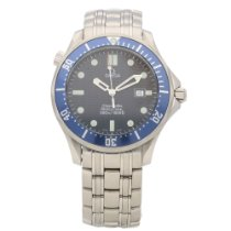 Omega Seamaster 2541.80.00 - Gents Watch - Blue Dial &...