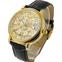 Maurice Lacroix MP7048 Masterpiece Squelette in Yellow Gold -...