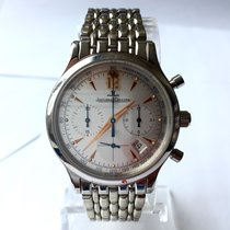 Jaeger-LeCoultre 34mm  Master Control Chronograph Steel...