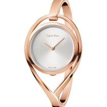 ck Calvin Klein Damenuhr Light, K6L2M616