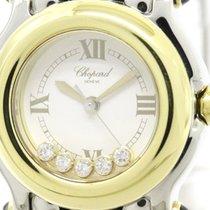 Σοπάρ (Chopard) Happy Sports Diamond 18k Gold Steel Watch...