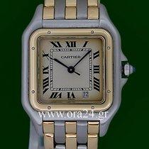 Καρτιέρ (Cartier) Panthere Date 18k Yellow Gold Steel