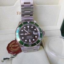 Ρολεξ (Rolex) Submariner Date Green Bezel - N.O.S. with Stickers