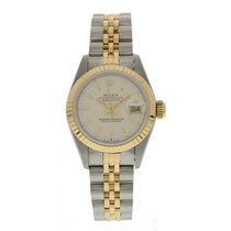 Rolex Oyster Perpetual Datejust 69173 18k YG Watch