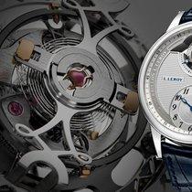 L.Leroy 18K WG Tourbillon Regulator Chronometer LL104-1