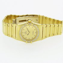 Omega Constellation Lady 18Karat 750er Gold mit Brillanten