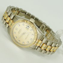 Rolex Tridor mit Diamantzifferblatt