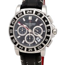 Carl F. Bucherer Carl F.  Patravi TravelGraph GMT Chrono Men's...